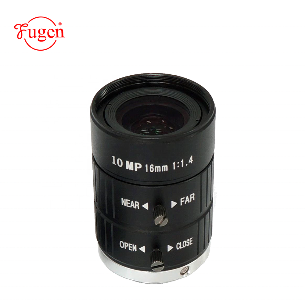 FG-FA1614-10M 10 mega pixel F16mm C mount manual focus CCTV industry camera lens for inspect