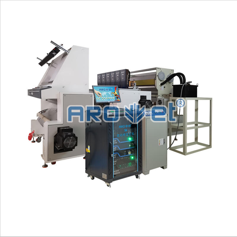 Roll to Roll Films Variable Data Barcode Qr Code Printing System