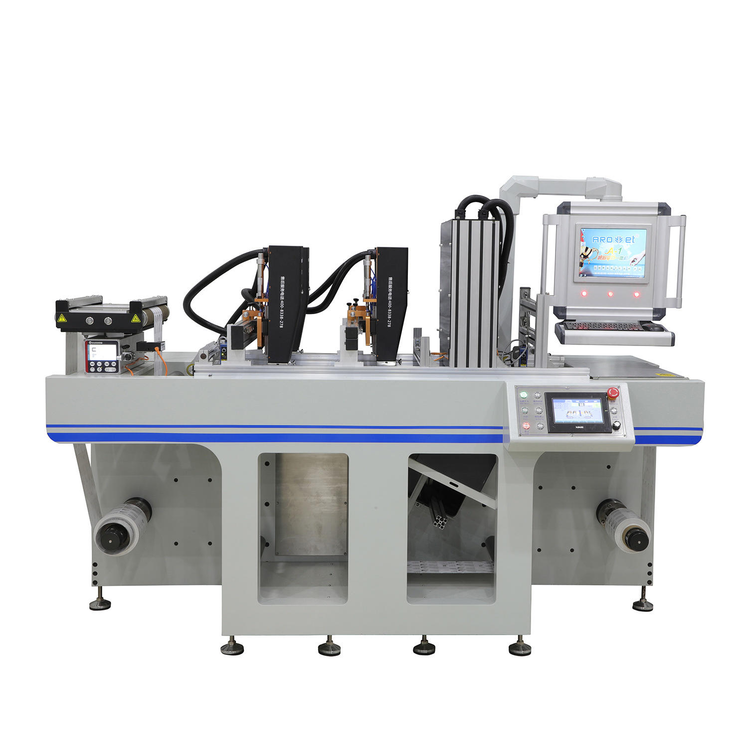 Rolling Lables Roll to Roll Dod UV Coding Machine