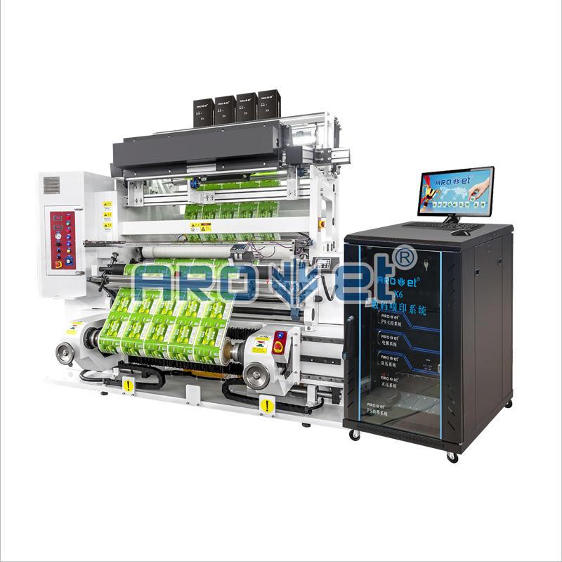 Sheet-Fed UV Inkjet Printer Variable Data Printing System