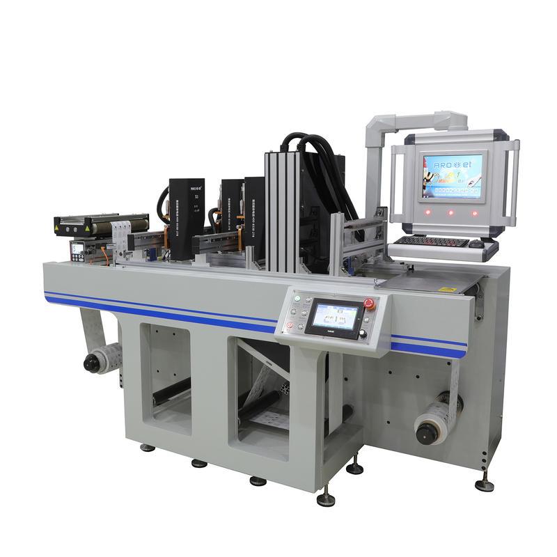Flexo Web UV Inkjet Variable Data Printing System with Platform