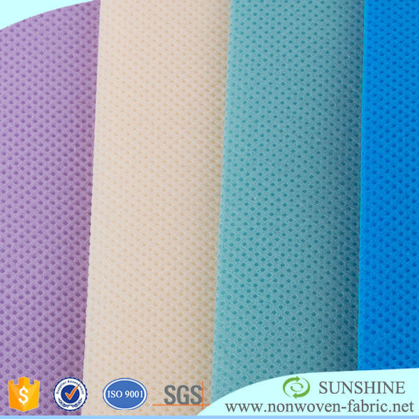 SS SMS SSS.SMMS disposable spunbond nonwoven waterproof fabric for medical product