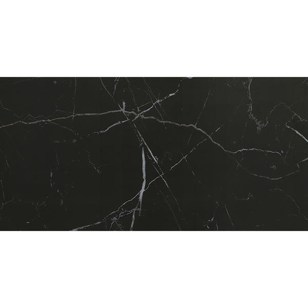 Onyx black gold ceramic floor tile