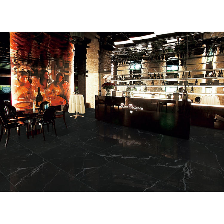 Anti slip hotel bar floor tile