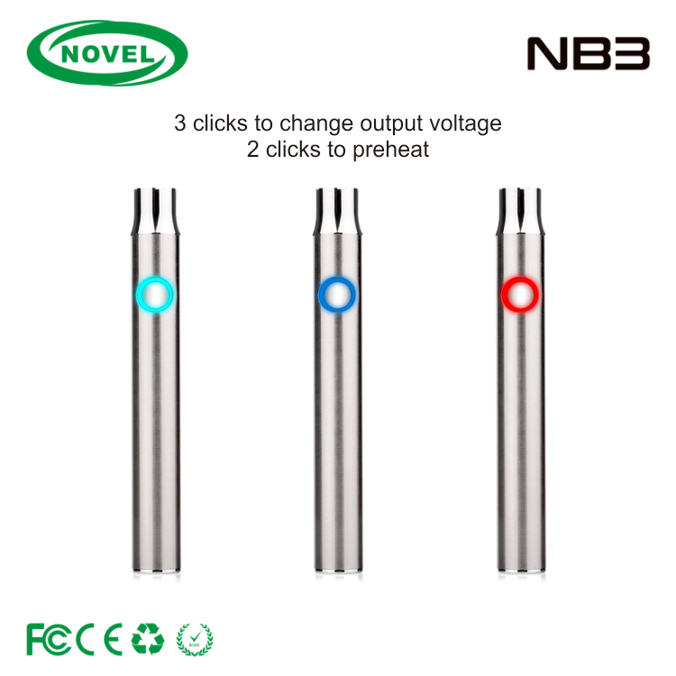 Promotional top quality small vape pen battery,vape battery 510 custom logo,400mAh vape battery