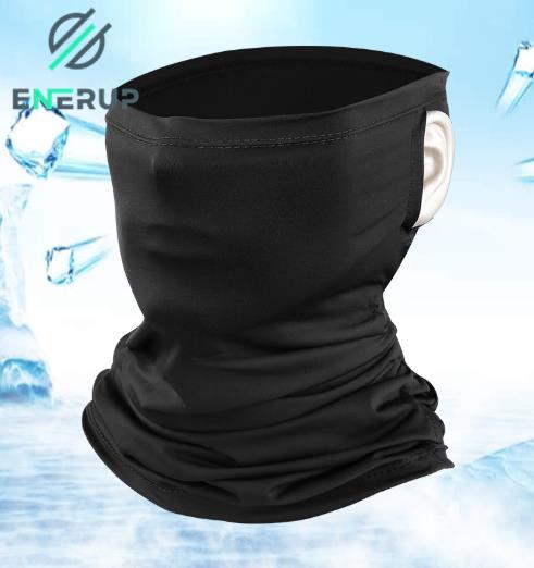 ENERUP Custom Face Tube Neck Gaiter Multifunctional Outdoor Motorcycle Protection Uv Balaclava Cover Head Mask Bandana Scarf