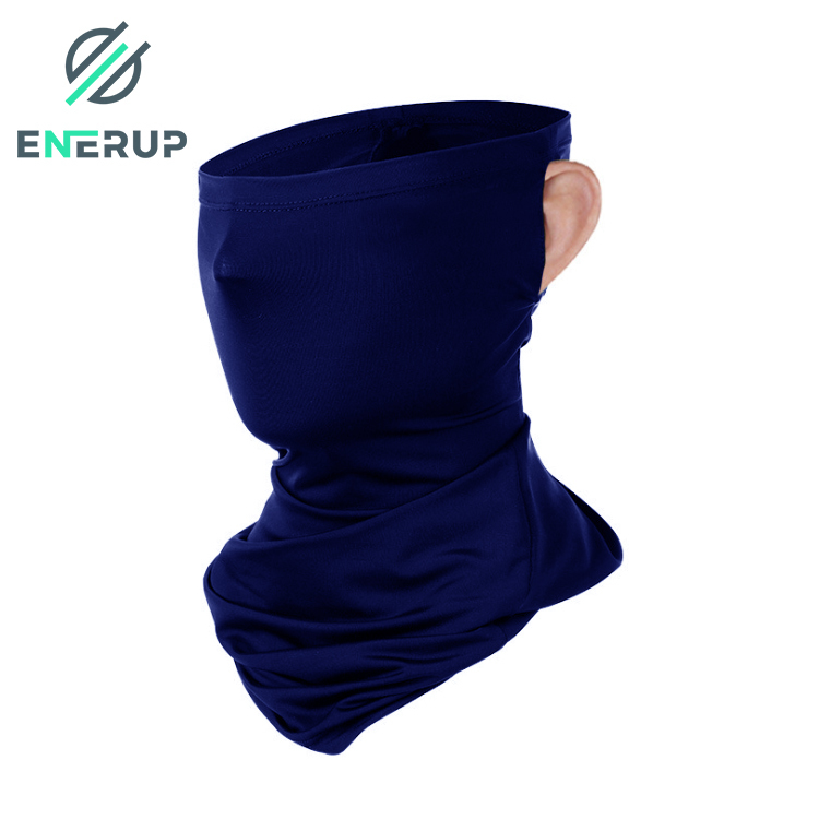 Enerup 3ply Face Guard Summer Cooling Organic Galaxy Neck Gaiter Balaclava Neckerchief Neck Gaiter Bandana Headwear Face Shield