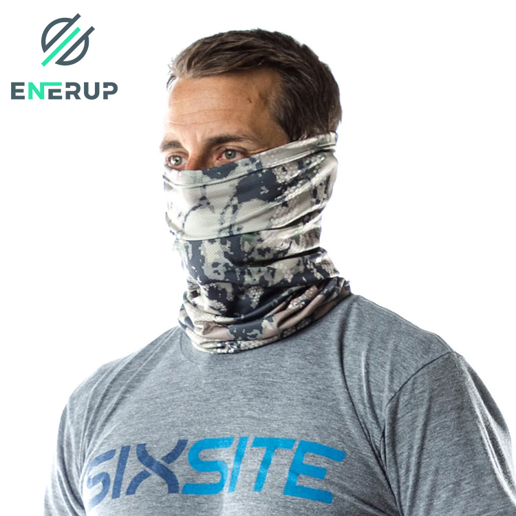 Enerup Achiou Blank Sublimation Mission Cooling Bandana Neck Gaiter American Flag Headwear Facemask Scarf Mask-Dust