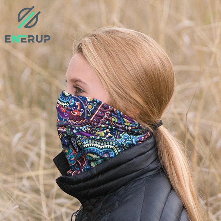 Enerup Funny Galaxy Dye Sublimation Breathable Bandana For Anti-Bacteria Balaclava All-Over Print Neck Gaiter