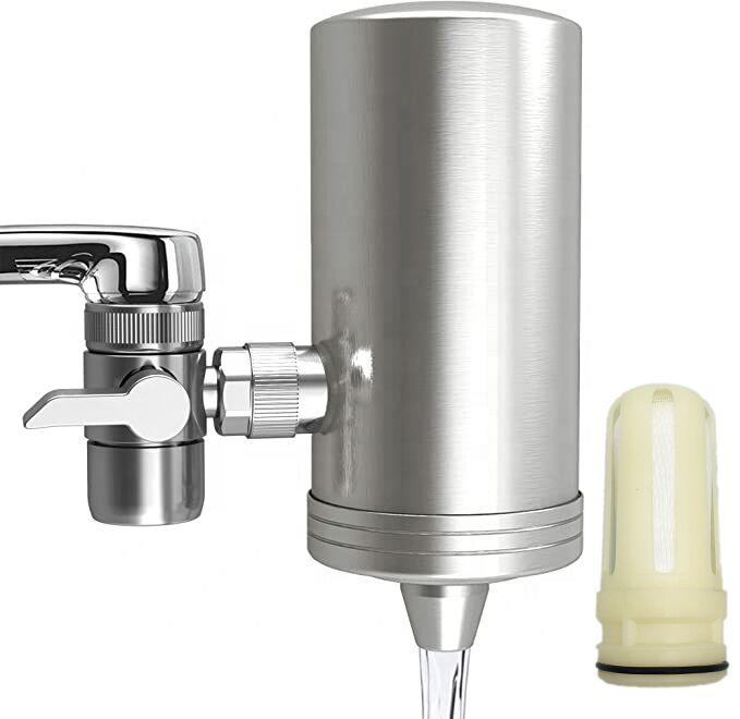Healthy Multi-Stage Filtration Kitchen Tap Water Filter With Ceramics And Activated Carbon Faucet Water Purifier