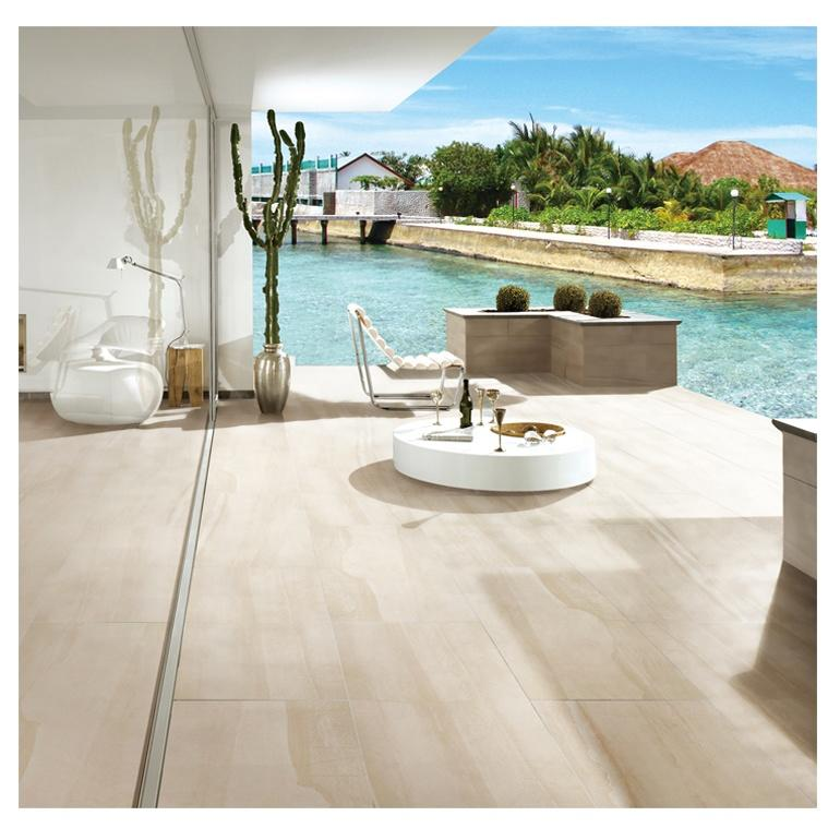 Flooring around the pool tile