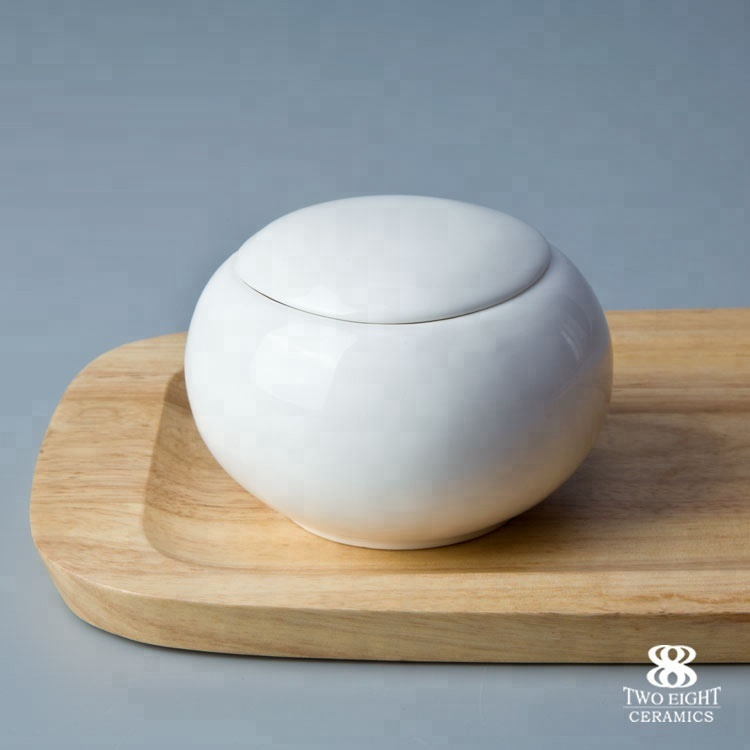 Wholesale ceramic milk pot and sugar bowl crockery tableware set
