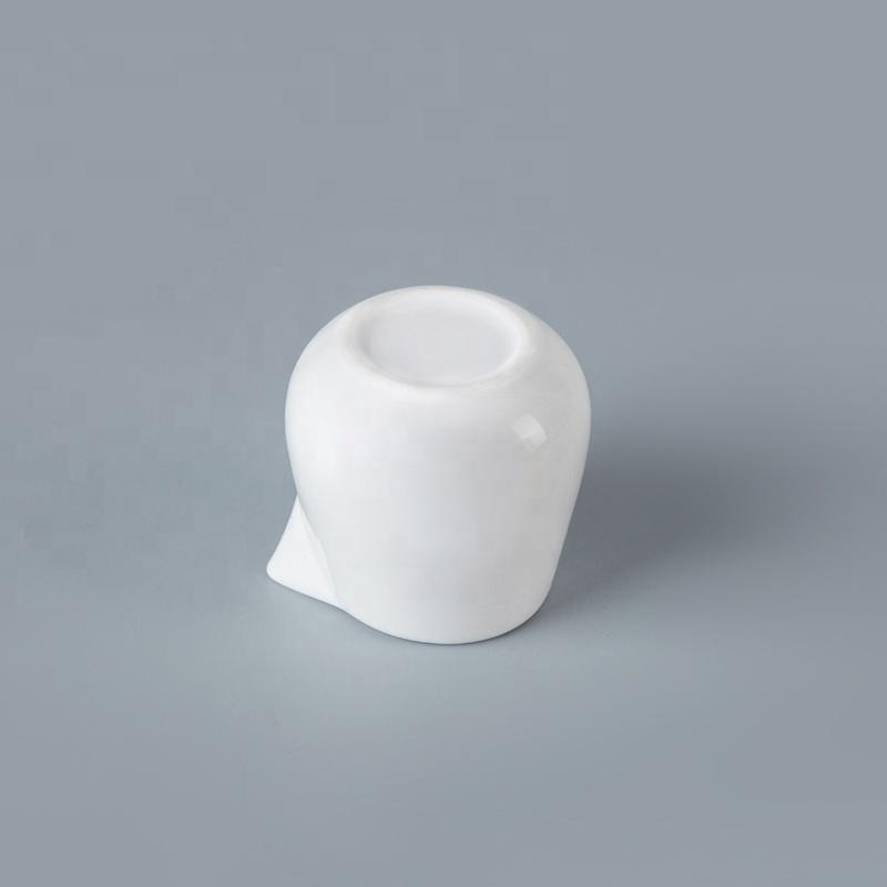 Good-Looking Without Handle Vajilla Hotel White Milk Jug, Hotel Crockery Ceramic Milk Jug^