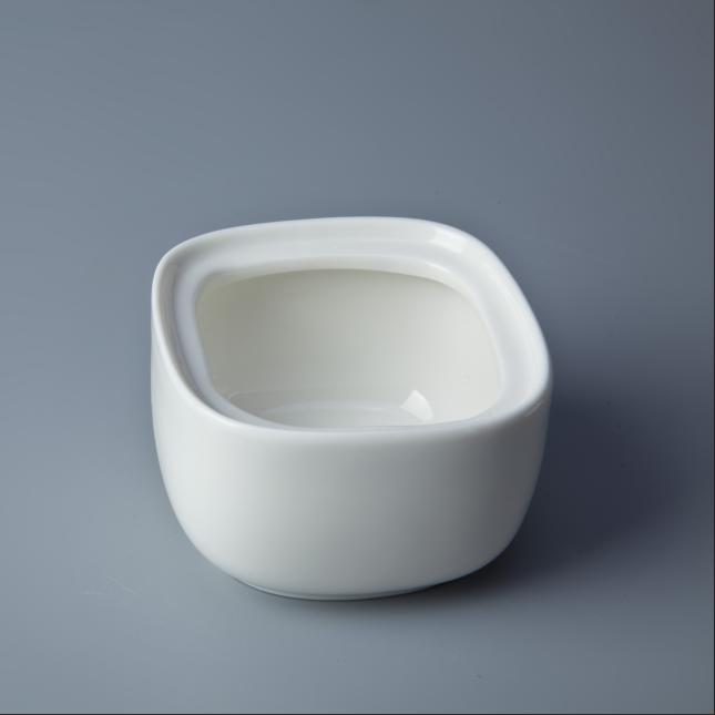 Restaurant crockery tableware milk pots and sugar bowl set