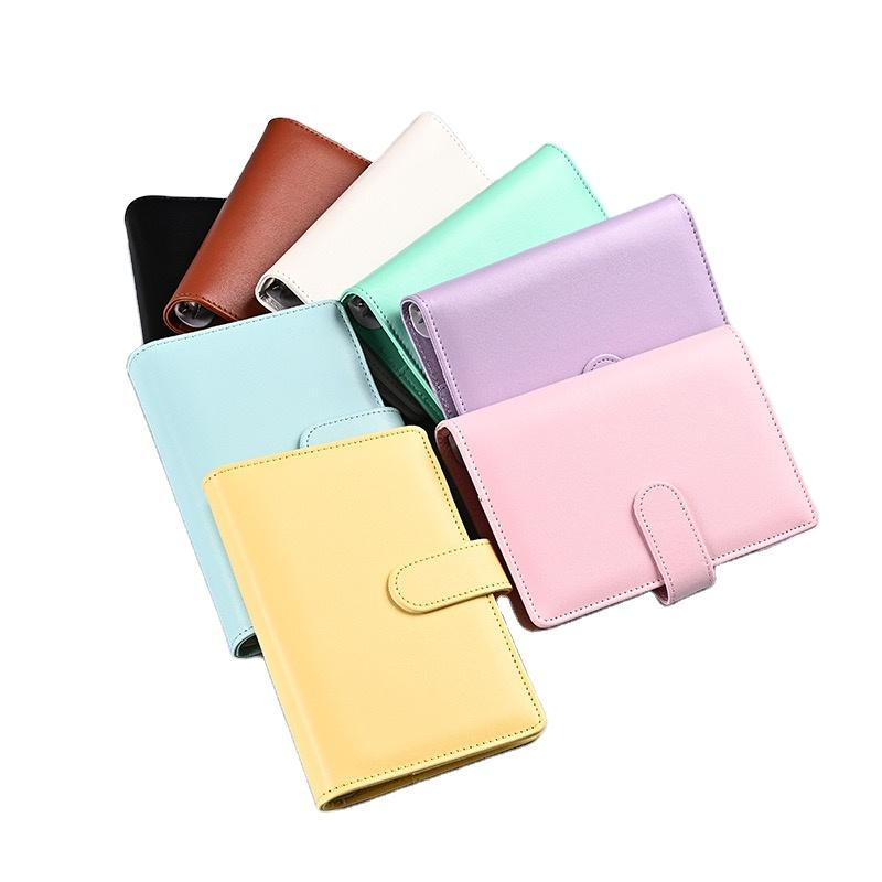 High Quality Note Book PU Leather Diary Printing Children's JournalNotebook And Pen Set With Logo