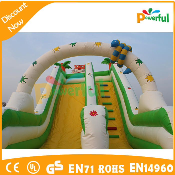 giant inflatable water slide inflatable bouncer slide for sale