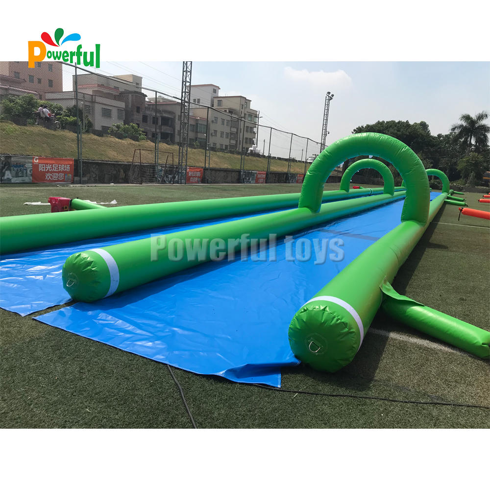factory price inflatable slide the city inflatable water slide 1000ft inflatable slip n slide