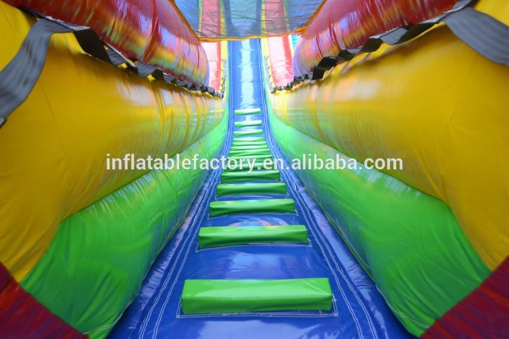 commercial grade inflatable dry water slide for kids and adults