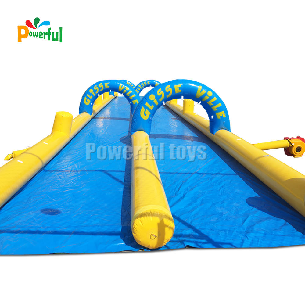 factory price giant inflatable slide the city,inflatable water slide,1000ft inflatable slip n slide