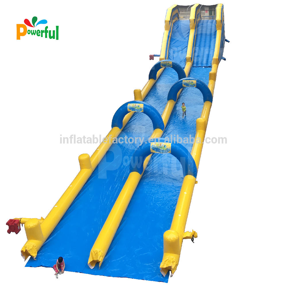 toboggan inflatable water slide