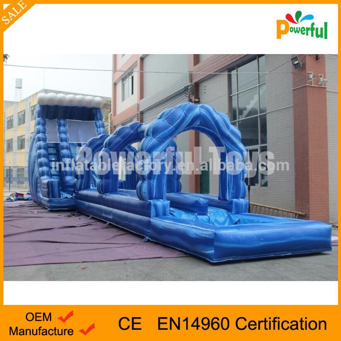 Commercial inflatable water slide slip n slide giant inflatable slide for kids and adult