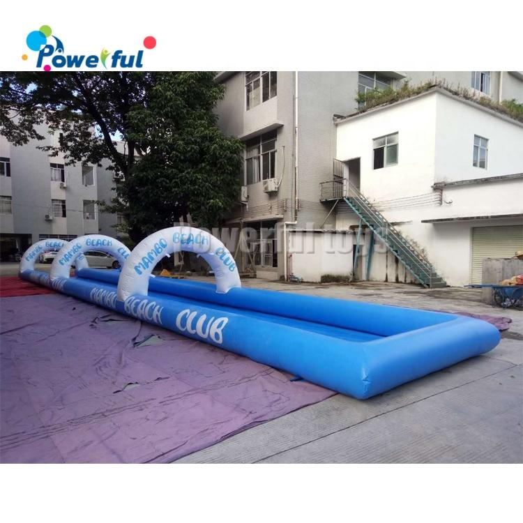 Customized size single lane inflatable slide the city for kids and adults