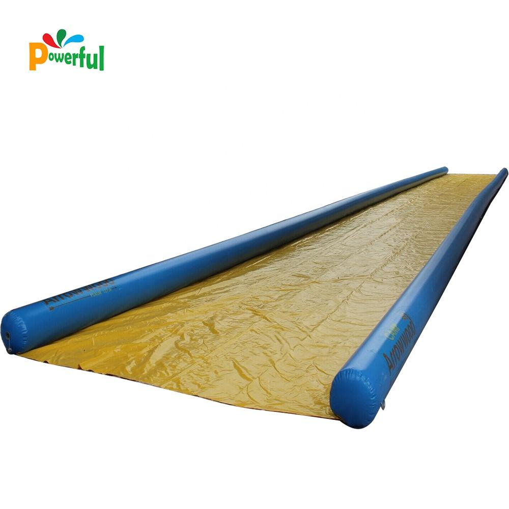 2019 hot selling inflatable bowling slip and slide for party
