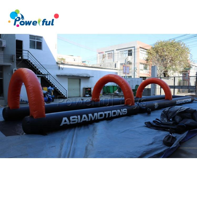 Kids inflatable swim slide airblown inflatable splash water pool slip n slide