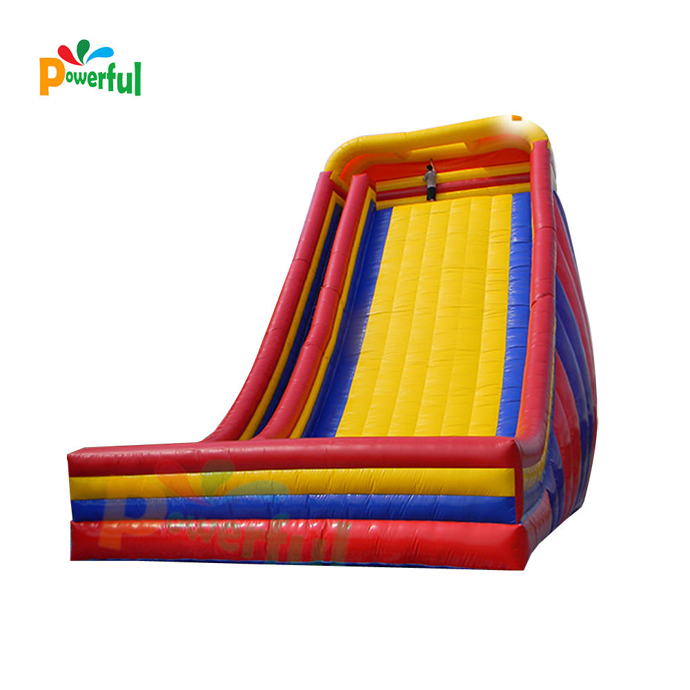 cheap simple giant inflatable slide for amusement park