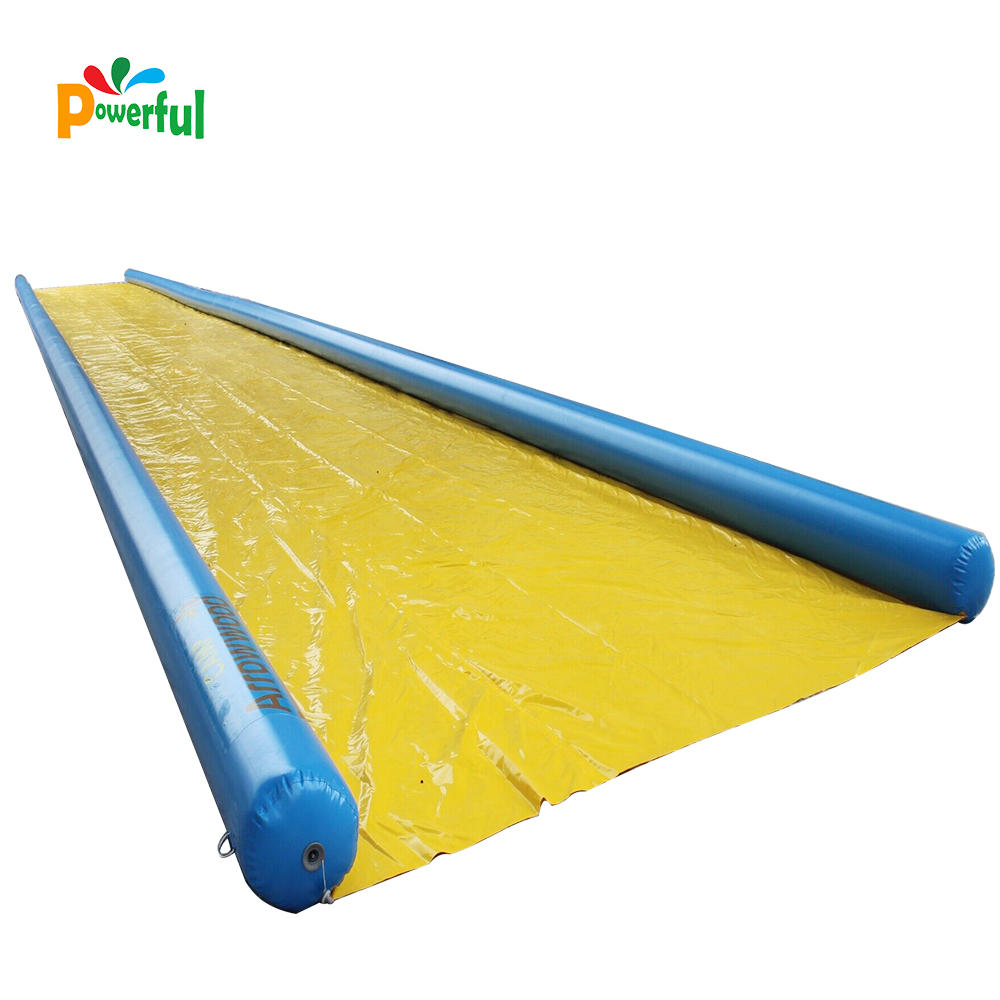 Inflatable water slip n slide the city factory price