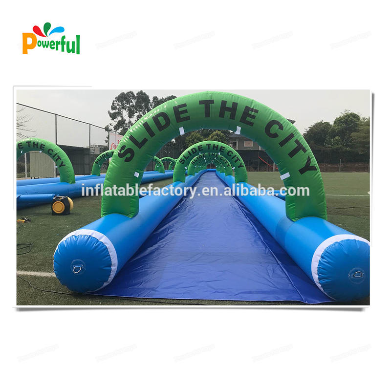 Giant inflatable slip n slide the city for adult