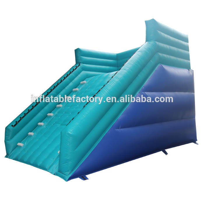 Plastic game inflatable zorb ramp for zorb ball