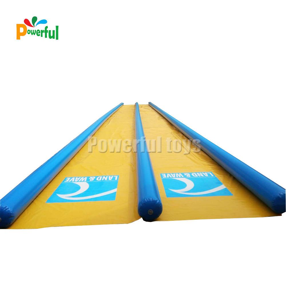 Crazy summer inflatable slip n slide water slide inflatable slide pool