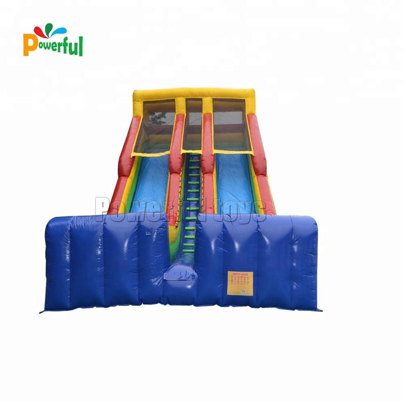 Drop kick giant inflatable slide inflatable water slides china