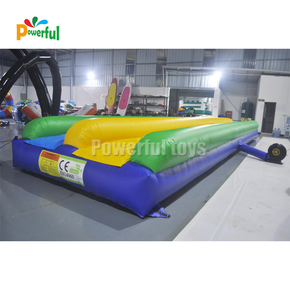 hot sale Themed park inflatable foam water slide bubble track slide for kids and adults