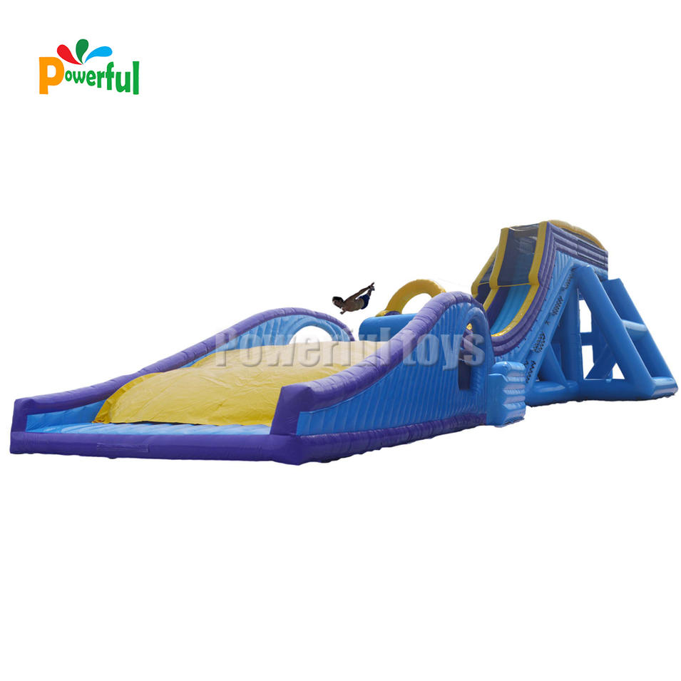 china cheap giant inflatable water slide combo