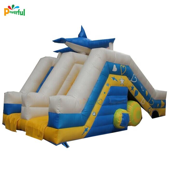 large Amusement park slide inflatable children water slide for swimming pool