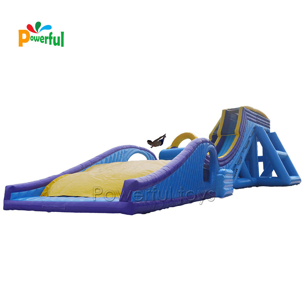 drop kick inflatable water slide for adult