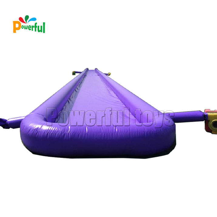 High quality commercial inflatable slip n slide slip city for adults and kids