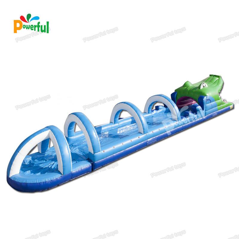 single lane inflatable belly slide slip and slide inflatable for summer