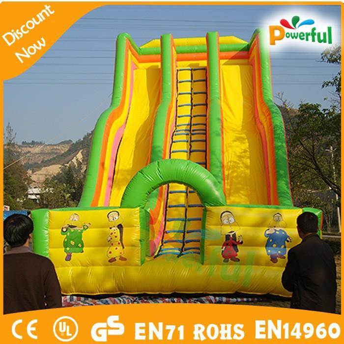inflatable vagina slide/giant inflatable water slide for adult