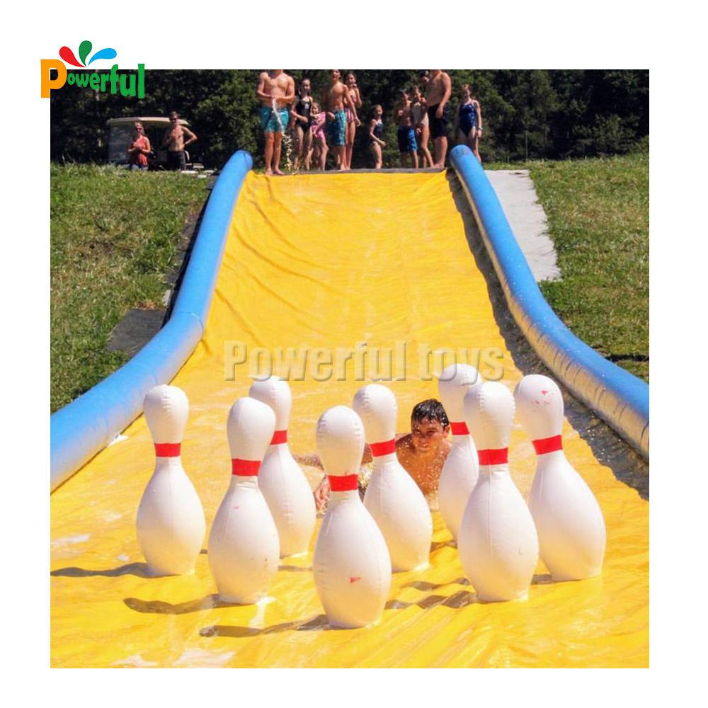 Air tight inflatable slider city slip n slide for summer
