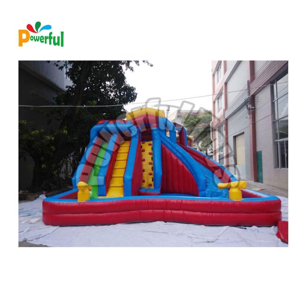 Hot sale blow up slide inflatable water bouncy slide