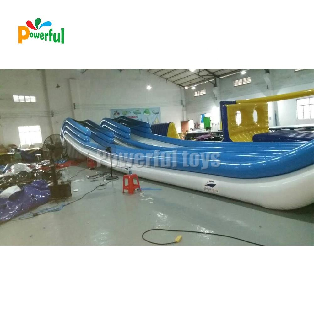 Factory OEM inflatable yacht slide giant inflatable water park slide