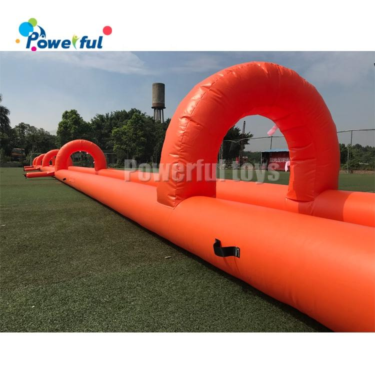50m inflatable slip n slide inflatable water slide the city for kids and adults
