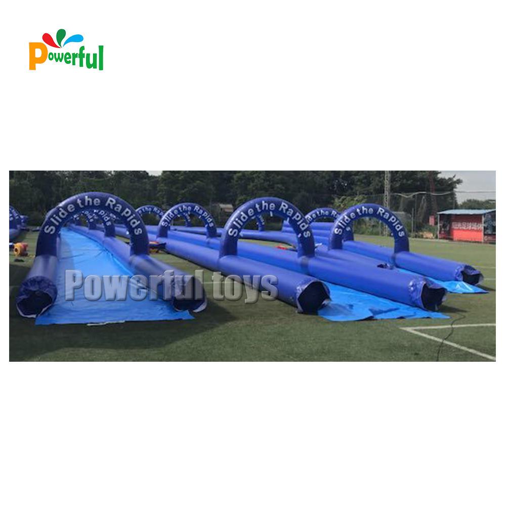 Summer Giant inflatable city water slip n slide game