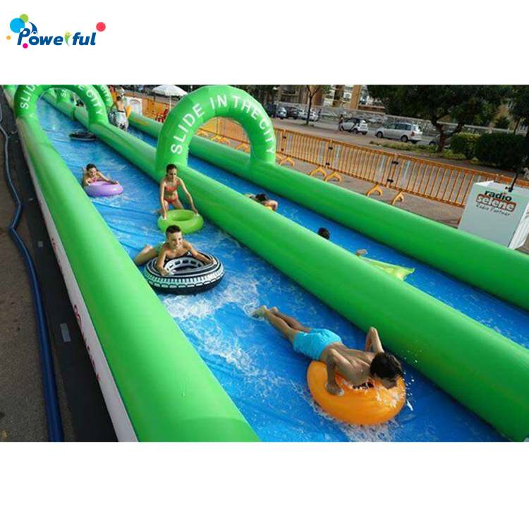 190m long giant commercial inflatable water slidesfor sale