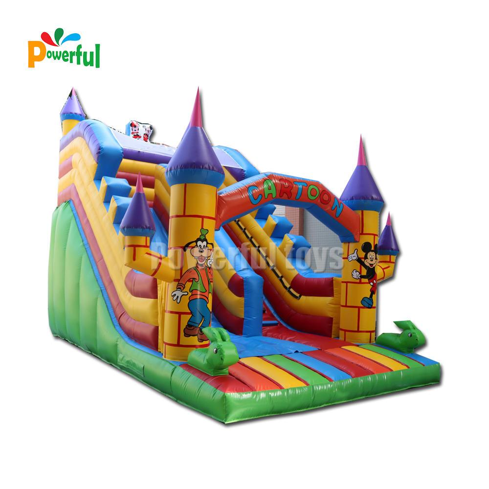 inflatable dry slide for kids