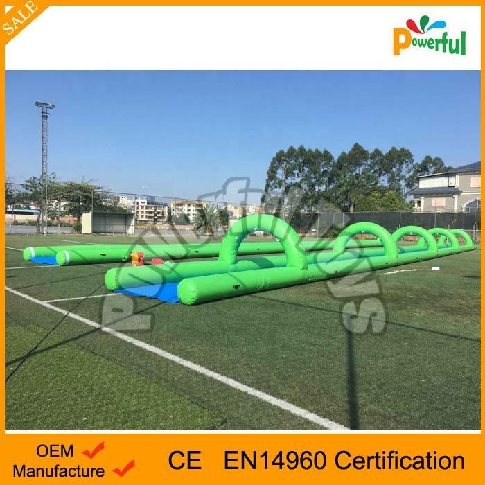 Extream 200m slip n slide inflatable slide the city wild splash slip n slide