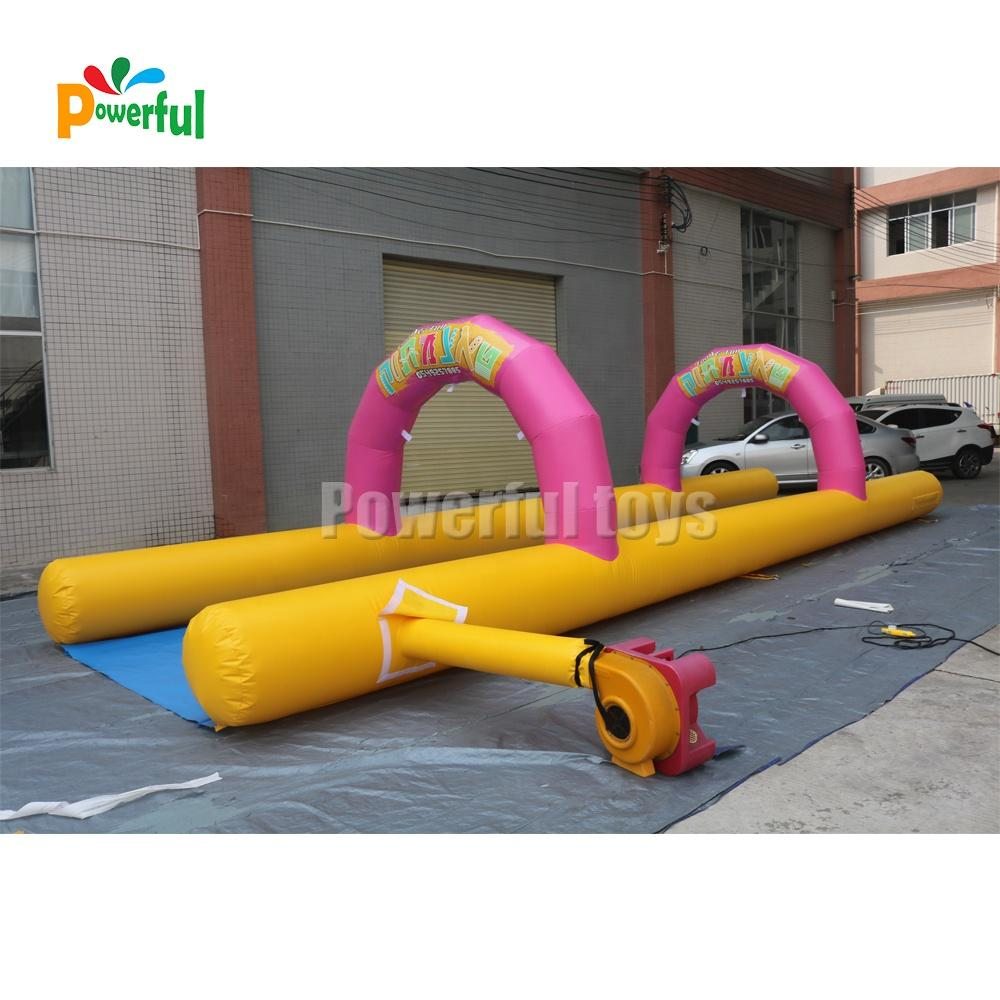 mini size water slide inflatable slip n slide for kids and adults